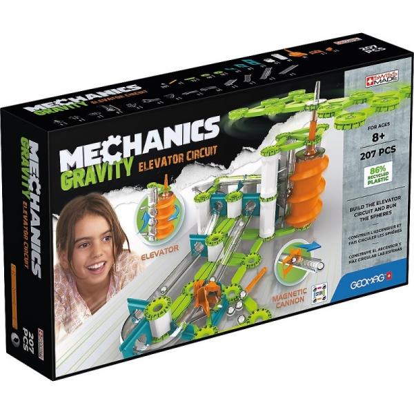 Klocki Magnetyczne Mechanics Gravity 207 elementów (G765)