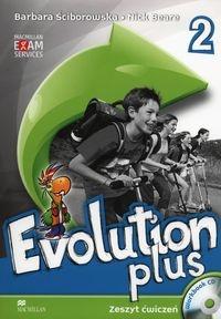 Evolution Plus 2 Zeszyt ćwiczeń Ściborowska Barbara, Beare Nick