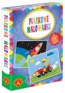 Piaskowe Malowanki - Auto / Rakieta (2465)