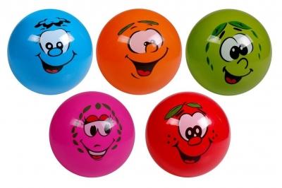 Piłka PVC Kolorowe Buźki