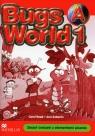 Bugs World 1A Zeszyt ćwiczeń z elementami pisania Szkoła podstawowa Read Carol, Soberon Ana