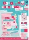 Blok kreatywny A4 z naklejkami Walentynki