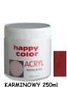 Farba akrylowa 250ml rubinowy (7370 0250-28)