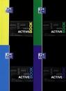 Kołonotatnik A4 Oxford w kratkę 80 kartek Activebook mix