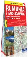 Rumunia i Mołdawia papierowa mapa samochodowa 1:700 000
