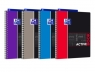 Kołonotatnik Oxford Activebook A4+ 80 kartek kratkamix wzorów