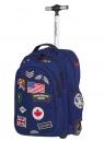 Coolpack - Junior - Plecak na kółkach - Badges Navy (89654CP)