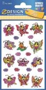 Naklejki brokatowe - Motylki (56065)