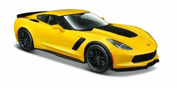 Model kompozytowy Corvette Z06 2015 żółty 1/24 (10131133/2)