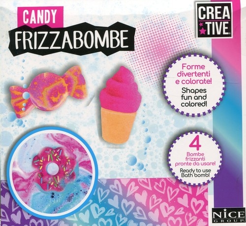 Musujące bomby Słodkości