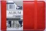 Album Jazz na 20 wizytówek czerwony .