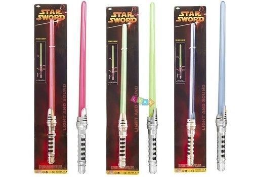 Miecz świetlny Star Wars światło i dźwięk mix