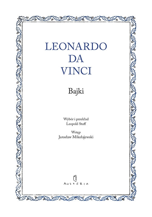 Bajki Leonardo da Vinci