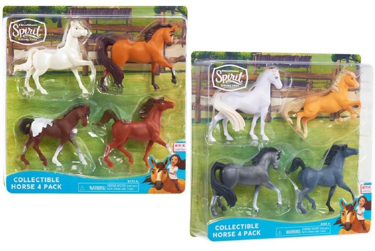 Mustang: Figurki 4 szt. MIX