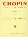 Utwory kameralne CW XVI Chopin
