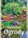 Kalendarz 2021 Ścienny Ogrody ARTSEZON