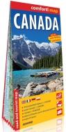 Kanada laminowana mapa samochodowo-turystyczna