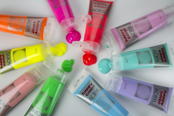 Farba akrylowa - fluo różowy 75ml (HA 7370 0075-221)