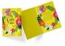 Karnet B6 PP-2172 Urodziny kwiaty