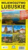 Województwo lubuskie mapa administracyjno-turystyczna