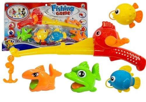 Zestaw do kąpieli wędka + rybki