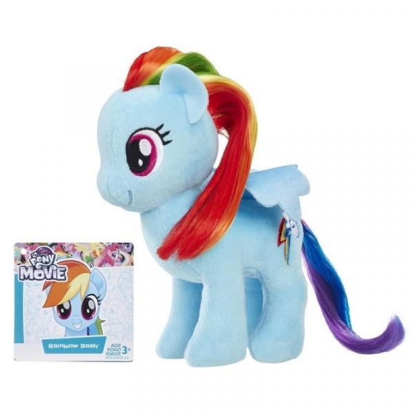 Maskotka My Little Pony Kucyki z pięknymi włosami Rainbow Dash (E0032/E0432)