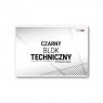 Blok techniczny czarny A4/10K (10szt) STRIGO