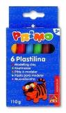 Plastelina Primo 6 kolorów 115 gr