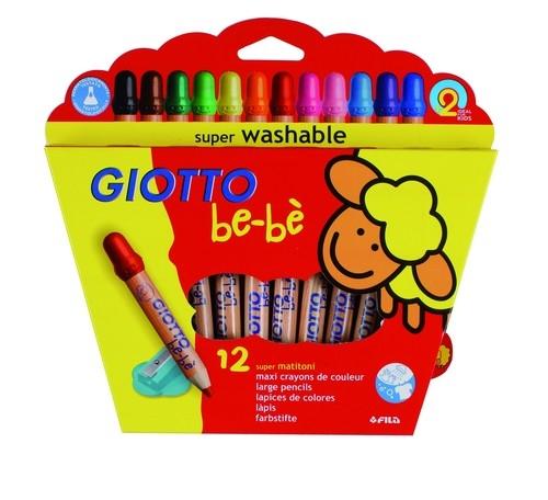 Kredki ołówkowe Giotto Bebe 12 kolorów