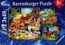 Puzzle Disney Bambi, Baloo i Simba 3x49