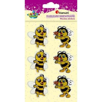 Naklejki 3d - pszczółki (373295)