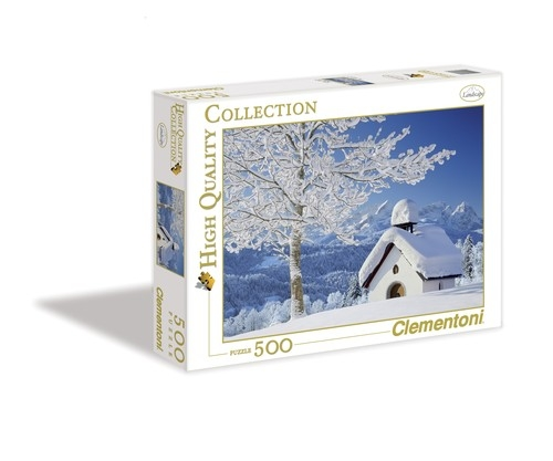 Puzzle High Quality Collection White Alpen 500 	 (30365)
