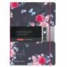 Notatnik A4/80k kratka/linia - Ladylike Flowers