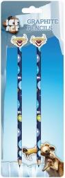 Zestaw 2 ołówków z gumką Epoka Lodowcowa