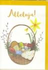 Karnet B6 Wielkanoc Koszyczek