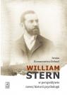 William Stern w perspektywie nowej historii psychologii Koczanowicz-Dehnel Iwona