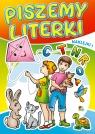 Kolorowanka. Piszemy literki - Dzieci z latawcem (A5, 16 str.)
