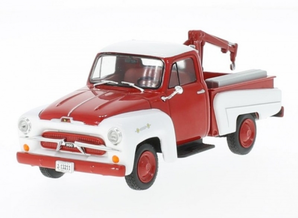 Chevrolet 3100 Tow Truck 1956 (red/white) (216290)