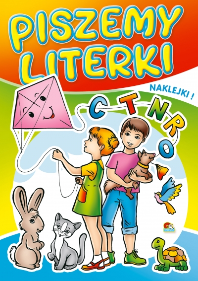 Kolorowanka. Piszemy literki - Dzieci z latawcem (A5, 16 str.) Praca zbiorowa