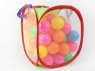 Piłka miękka plastik do basenu, 60 sztuk, 6,5cm (BPIL1657)
