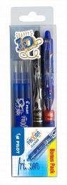 Zestaw Pilot Frixion clicker czarny + wkłady niebieskie + ball limited