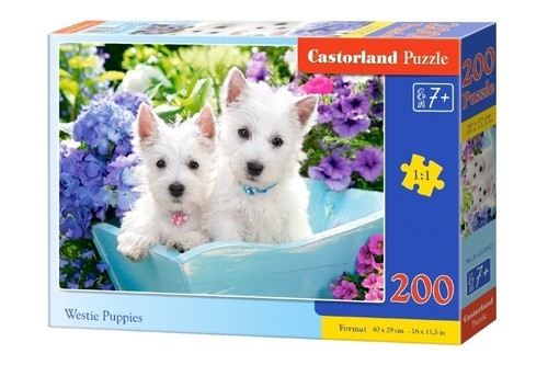 Puzzle Westie Puppies 200 (B-222032)