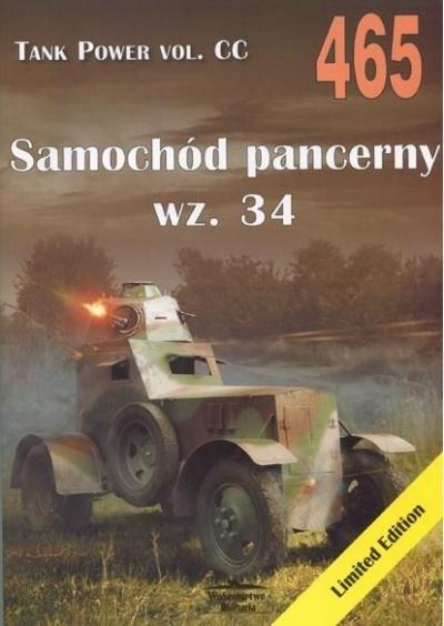 Samochód pancerny wz.34. Tank Power vol. CC 465 Janusz Ledwoch
