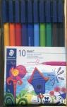 Flamastry szkolne Noris 10 kolorów