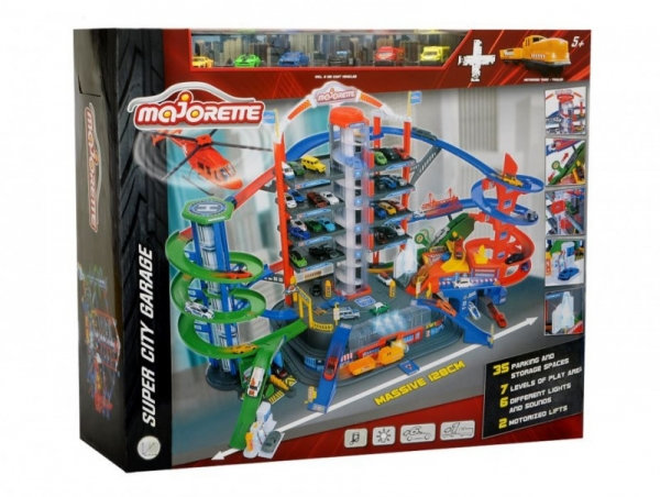 Garaż Super City, 130 cm (212059989)