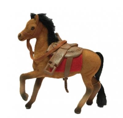 Koń flokowan