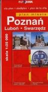 Poznań Luboń Swarzędz plan miasta