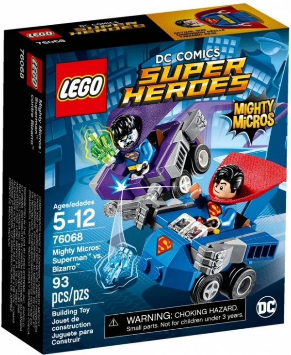Super Heroes Superman kontra Bizarro (76068) (Uszkodzone opakowanie)
