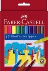 Flamastry Faber-Castell Zamek 12 kolorów (FC554212)