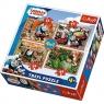 Puzzle 4w1 Tomek i przyjaciele Podróże po świecie (34300)